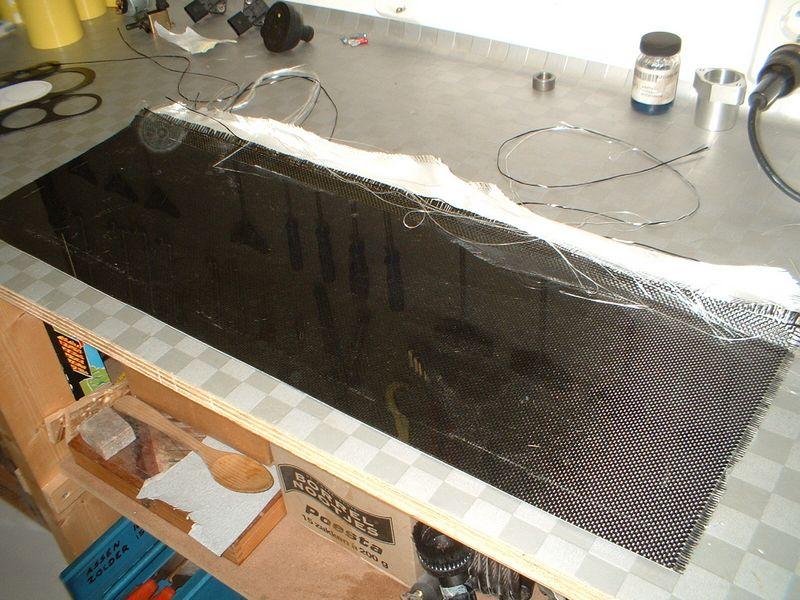 Carbon plaat maken